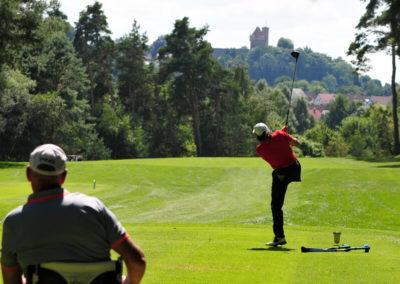 Thomas Frey bei den Deutschen Meisterschaften der Golfer mit Behinderung 2016.