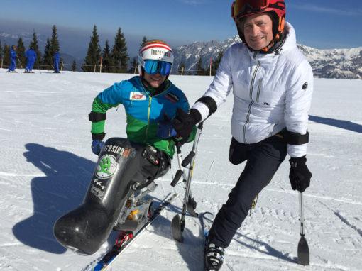 Skifahren ist ein Genuss.
