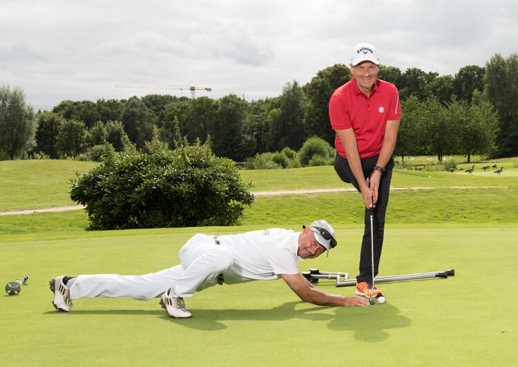 Thomas Frey bei den Internationalen Deutschen Meisterschaften der Golfer mit Behinderung 2017.