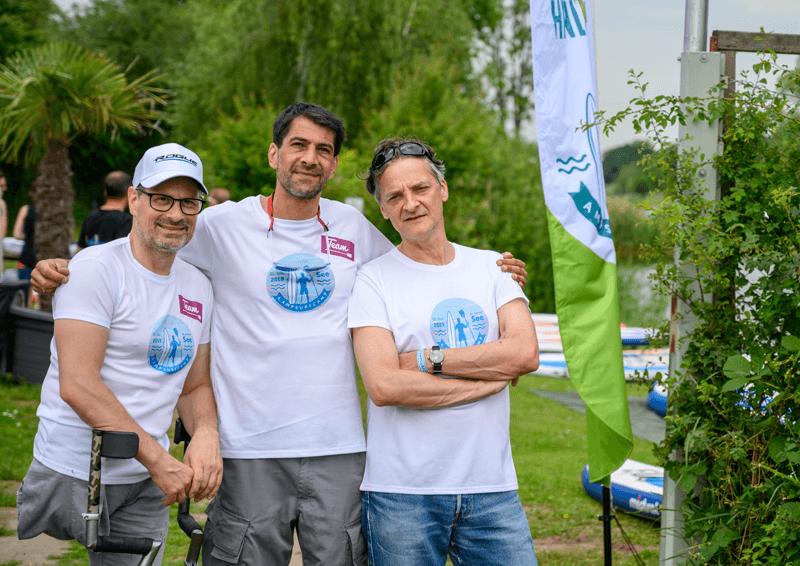 Thomas Frey, Roman Metzler und Jens Freitag