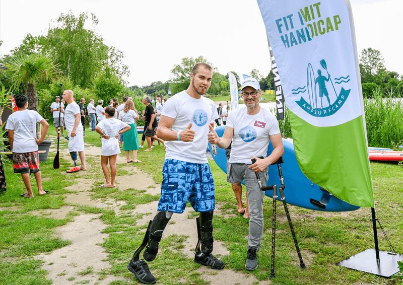 AmpSurfcamp 2019: Jochen Wier und Thomas Frey.