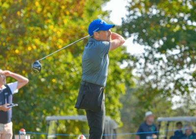 Thomas Frey bei den Bayrischen Golfmeisterschaften