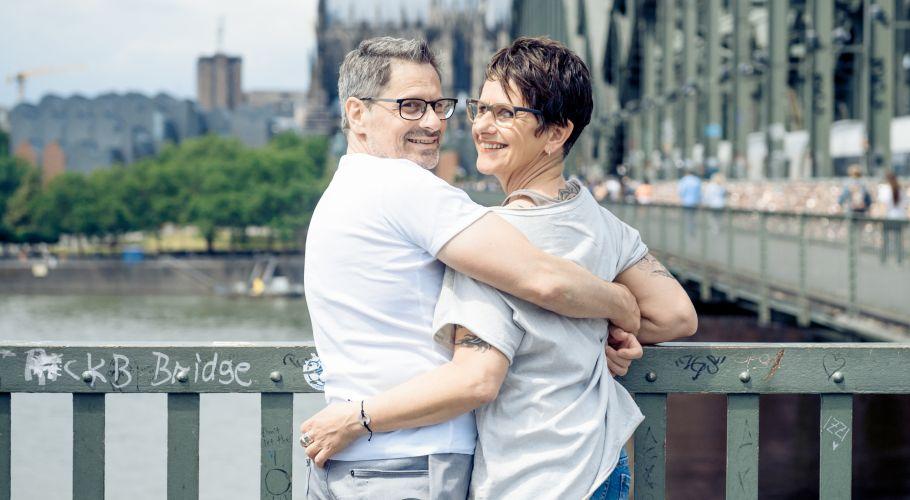 Elke Kürbisch und Thomas Frey - Beziehung mit Handicap.